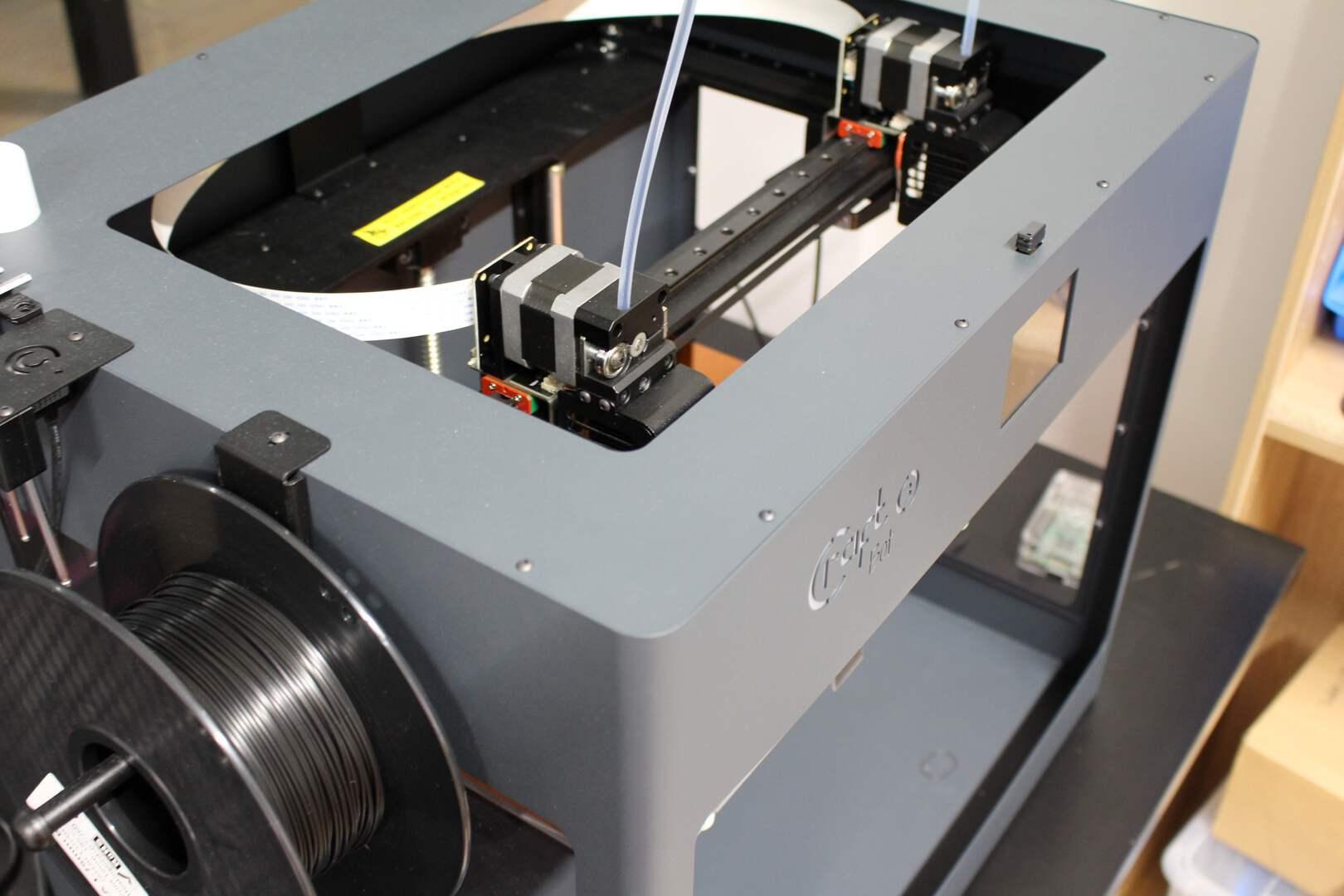 Unser zuverlässiges Helferlein, der 3D-Drucker